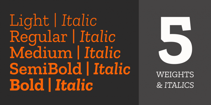 Zilla Slab Font Free by Typotheque » Font Squirrel