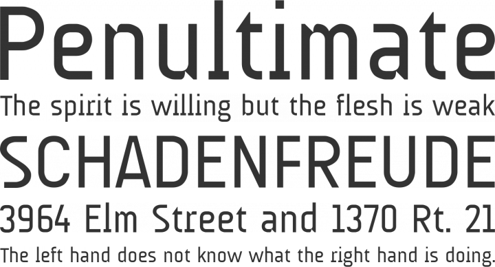 AUdimat Font Phrases