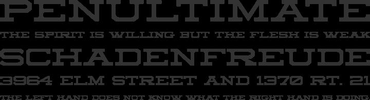 Sedgwick Co Font Phrases