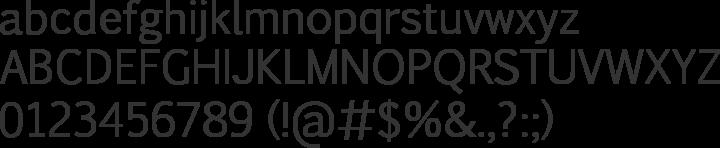 Pigiarniq Font Specimen
