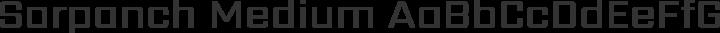 Sarpanch Medium free font