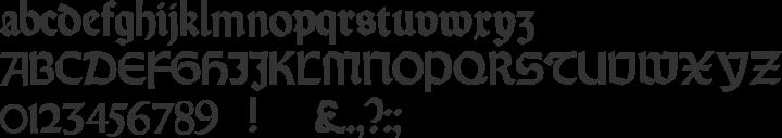 Orotund Font Specimen