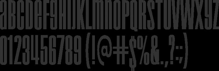 Droid Font Specimen
