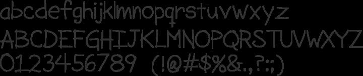 SorbetLTD Font Specimen