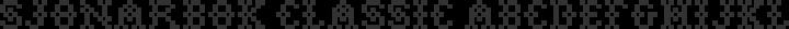 Sjonarbok Classic Regular free font