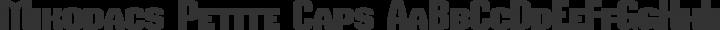 Mikodacs Petite Caps free font