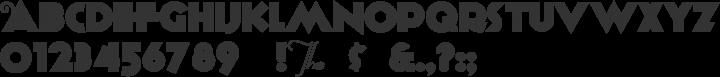Anagram Font Specimen