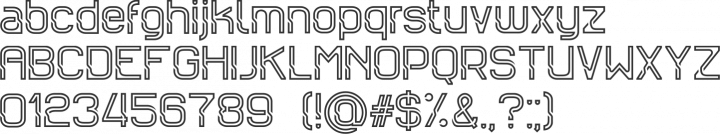 Sportrop Font Specimen