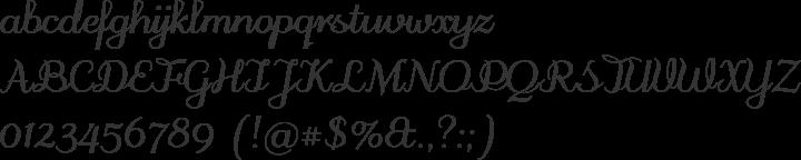 odstemplik Font Specimen