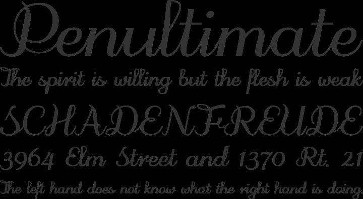 odstemplik Font Phrases