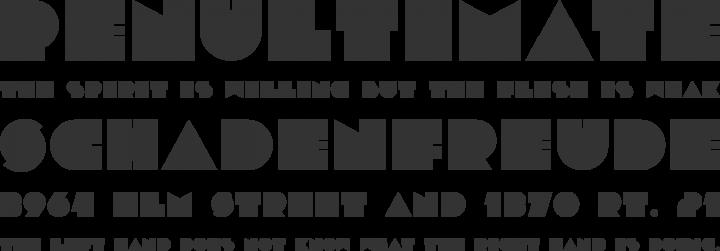 Dubtronic Font Phrases