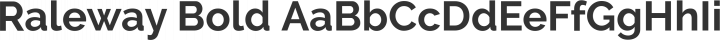 Raleway Bold free font