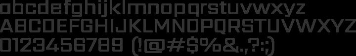 Sarpanch Font Specimen
