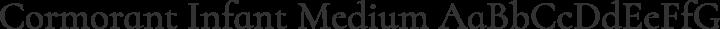 Cormorant Infant Medium free font