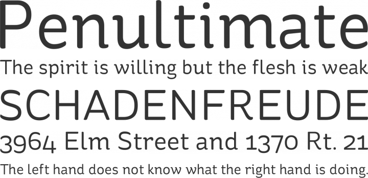 St Ryde Font Phrases