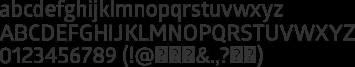 Glober Font Specimen