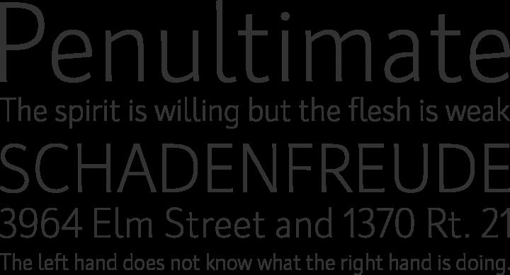 Kardinal Font Phrases