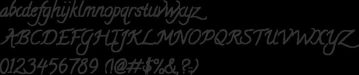 Calligraffiti Font Specimen