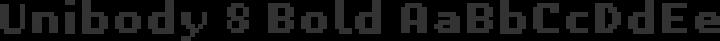 Unibody 8 Bold free font