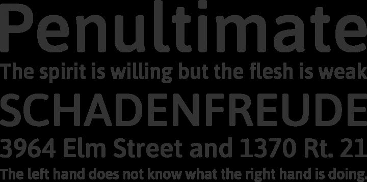 Asap Symbol Font Phrases