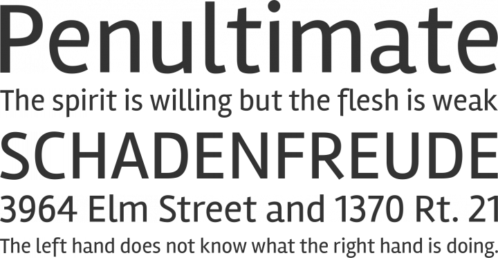 Rambla Font Phrases