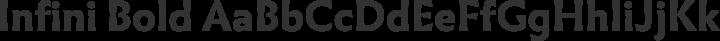 Infini Bold free font