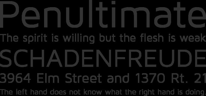 Maven Pro Font Phrases