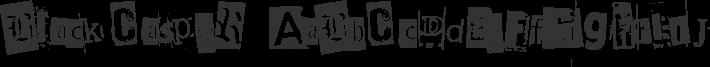 BlackCasper font family by AllencHIU cHIU