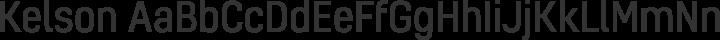 Kelson Regular free font