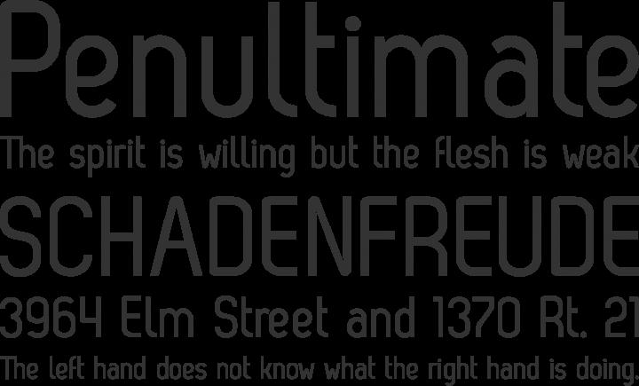 Zag Regular Font Phrases
