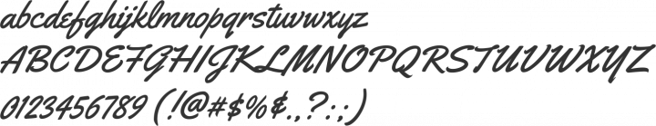 Yellowtail Font Specimen