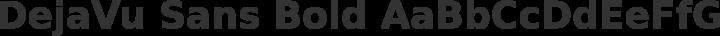 DejaVu Sans Bold free font