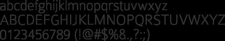 Colaborate Font Specimen