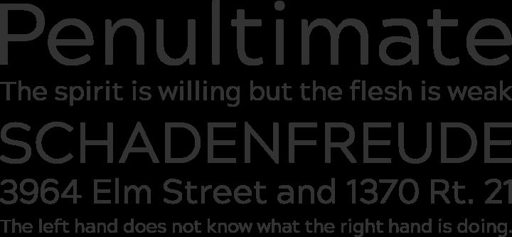Acherus Grotesque Font Phrases