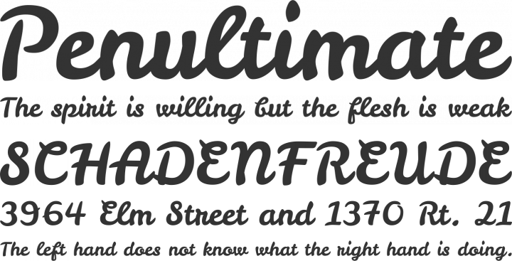 leckerli one font free by gesine todt font squirrel