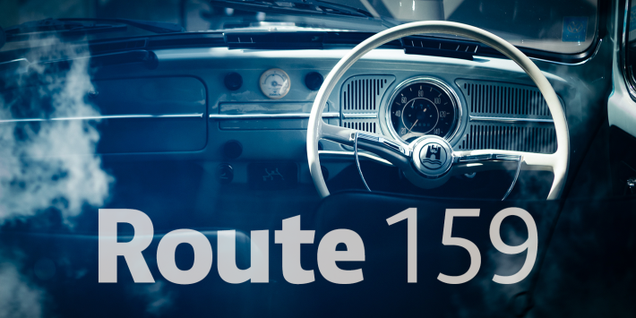 Route 159 Font Free By Dot Colon Squirrel